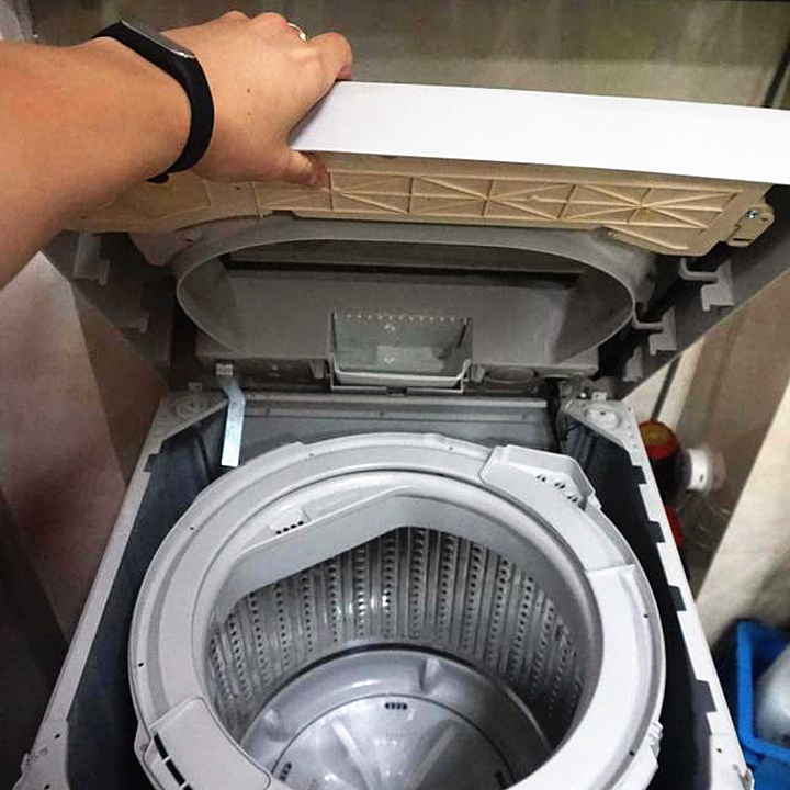 #5月好晒单# 衣服洗不干净?该洗洗你家的<font color='red'>洗衣机</font>了